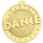 Dance Medal 50mm AM1163
